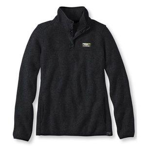 LLBean | Black Sweater Fleece Pullover
